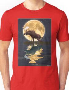 Moose Moon Unisex T-Shirt
