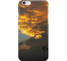 Stormy Kansas Sunset iPhone Case/Skin