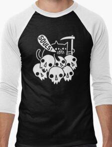 Cat Got Your Soul funny Men's Baseball ¾ T-Shirt