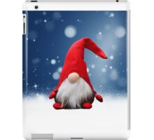 Cute Christmas Santa Snow Stars iPad Case/Skin