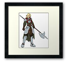 Sterling, the Beast Within Framed Print