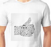 Music hand3 Unisex T-Shirt