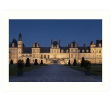 Fontainebleau castle	 Art Print