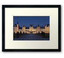 Fontainebleau castle Framed Print