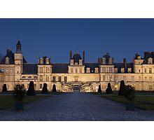 Fontainebleau castle Photographic Print
