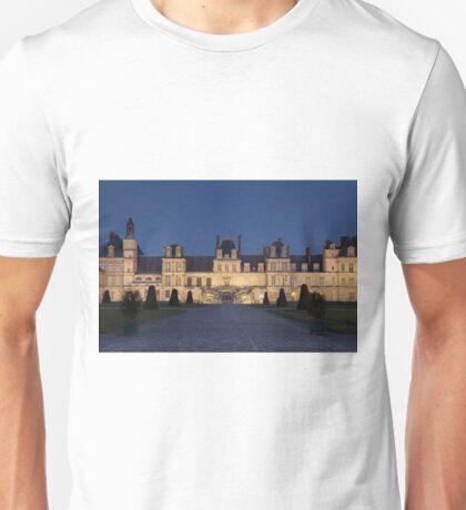 Fontainebleau castle Unisex T-Shirt