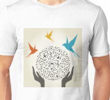 Music hand5 Unisex T-Shirt