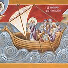 St Brendan the Navigator by ikonographics