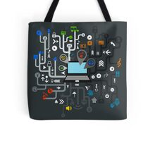 Music the computer Tote Bag