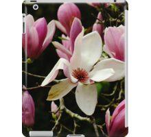 Magnolia Solangiana iPad Case/Skin