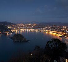 View of San Sebastian by PhotoBilbo