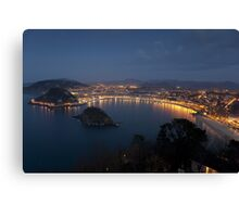 View of San Sebastian Canvas Print