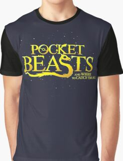 Pocket Beasts Graphic T-Shirt