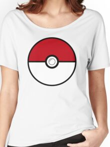 pokemon ball funny Women's Relaxed Fit T-Shirt