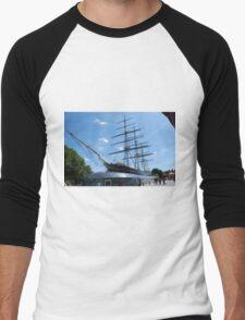 Cutty Sark at Greenwich London Men's Baseball ¾ T-Shirt