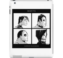The Misfits in Gorillaz Style iPad Case/Skin