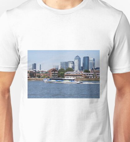 Thames Clippers at Thames Greenwich London Unisex T-Shirt