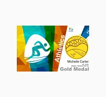 Michelle Carter Gold Medal Olympic Rio 2016 Unisex T-Shirt