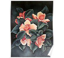 Pink Magnolia - Magnolia Rosa - Magnolia Rose (Original) Poster