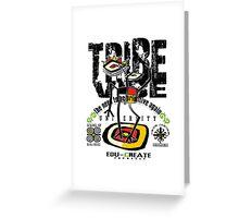 UNIVERSITY TRIBE VIBE Greeting Card