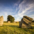 Avebury Summer by Angie Latham