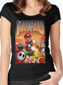 Mario's Doom Women's Fitted Scoop T-Shirt