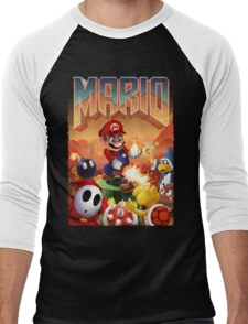 Mario's Doom Men's Baseball ¾ T-Shirt