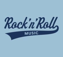 Rock 'n' Roll – Music (Blue) Kids Clothes