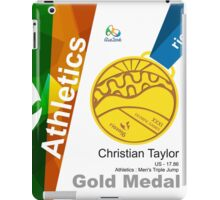 Christian Taylor Gold Medal Olympic Rio 2016 iPad Case/Skin