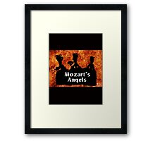 "Mozart and Marie ""Mozart's Angels"" Framed Print"