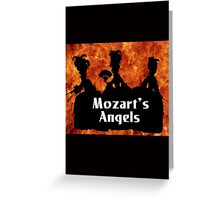 """Mozart and Marie """"Mozart's Angels"""" Greeting Card"""