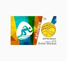 Jeff Henderson Gold Medal Olympic Rio 2016 Unisex T-Shirt