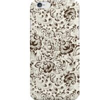 Floral seamless pattern in Gzhel style iPhone Case/Skin