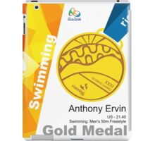 Anthony Ervin Gold Medal Olympic Rio 2016 iPad Case/Skin