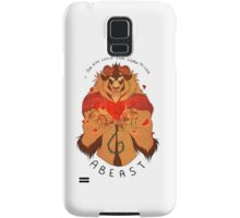 Who Can Ever Learn to Love a Beast Samsung Galaxy Case/Skin