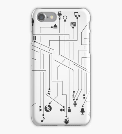 Music the scheme iPhone Case/Skin