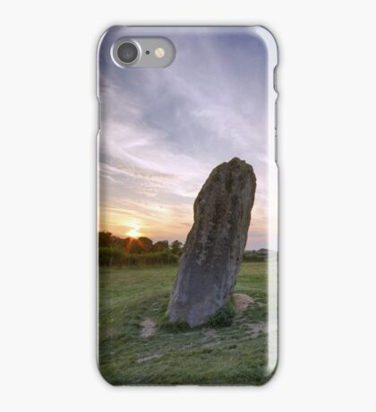 Avebury Sunset iPhone Case/Skin