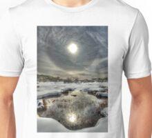 Winter sun halo, Mount Buffalo Unisex T-Shirt