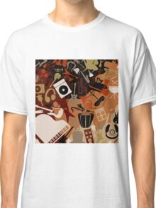 Musical background3 Classic T-Shirt