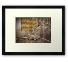 lost armchair  Framed Print