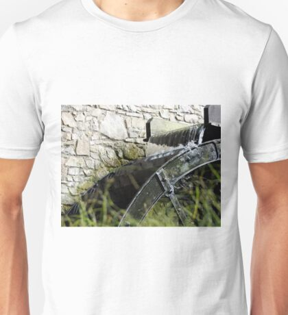 Corn Mill Water Wheel Unisex T-Shirt