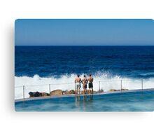 Surf's Up - Bronte Beach, Australia Canvas Print