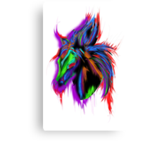 Psychedelic Horse Canvas Print