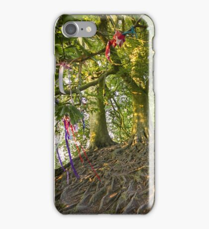 Avebury Tree roots iPhone Case/Skin