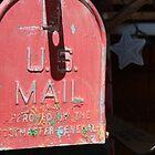 vintage US Mail box by Karol Franks