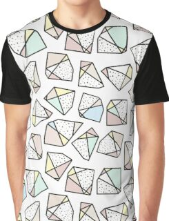 Polygonal stones and gemstones Graphic T-Shirt