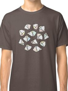 Polygonal stones and gemstones Classic T-Shirt