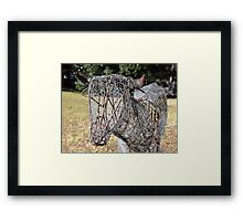The Ultimate Low Maintenance Cow! Framed Print