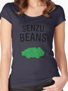 Senzu Beans Parody Women's Fitted Scoop T-Shirt
