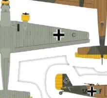 Ju 52 Crete May 1941 Sticker